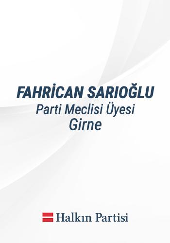 FAHRİCAN-SARIOĞLU